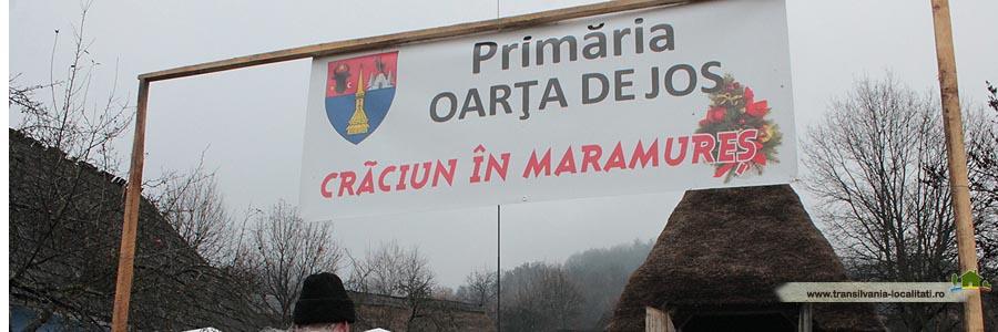 Oarta de Jos - Craciun in Maramures-2014