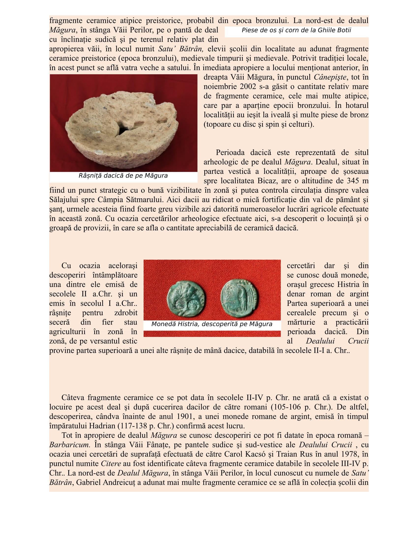 Prezentare situri arheologice din Oarta de Sus-3